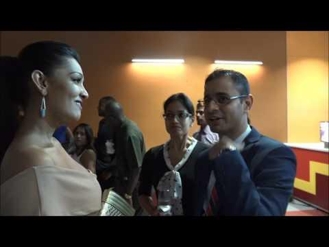 President Obama pays Surprise Visit to Trinidad Movie Town, San Fernando. January 16, 2017