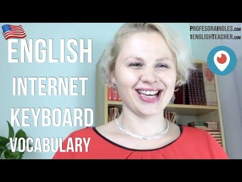Business English Internet Work Keyboard Punctuation vocabulary