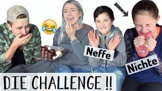 DIE CHALLENGE gegen KLEINE NICHTE + NEFFEN ♡ BibisBeautyPalace