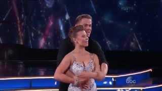 "Bindi Irwin & Derek Hough vs Nick Carter & Sharna Burgess ""Samba Dance Off"""