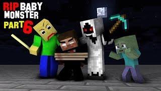 Monster School : RIP ALL BABY Monsters Part 6 (Where's Teacher Herobrine?) - Minecraft Animation