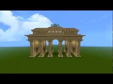 Let's Show Minecraft Brandenburger Tor [HD]
