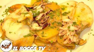 229 - Seppie al forno con patate...a dir poco esagerate! (secondo piatto di pesce facile e veloce)