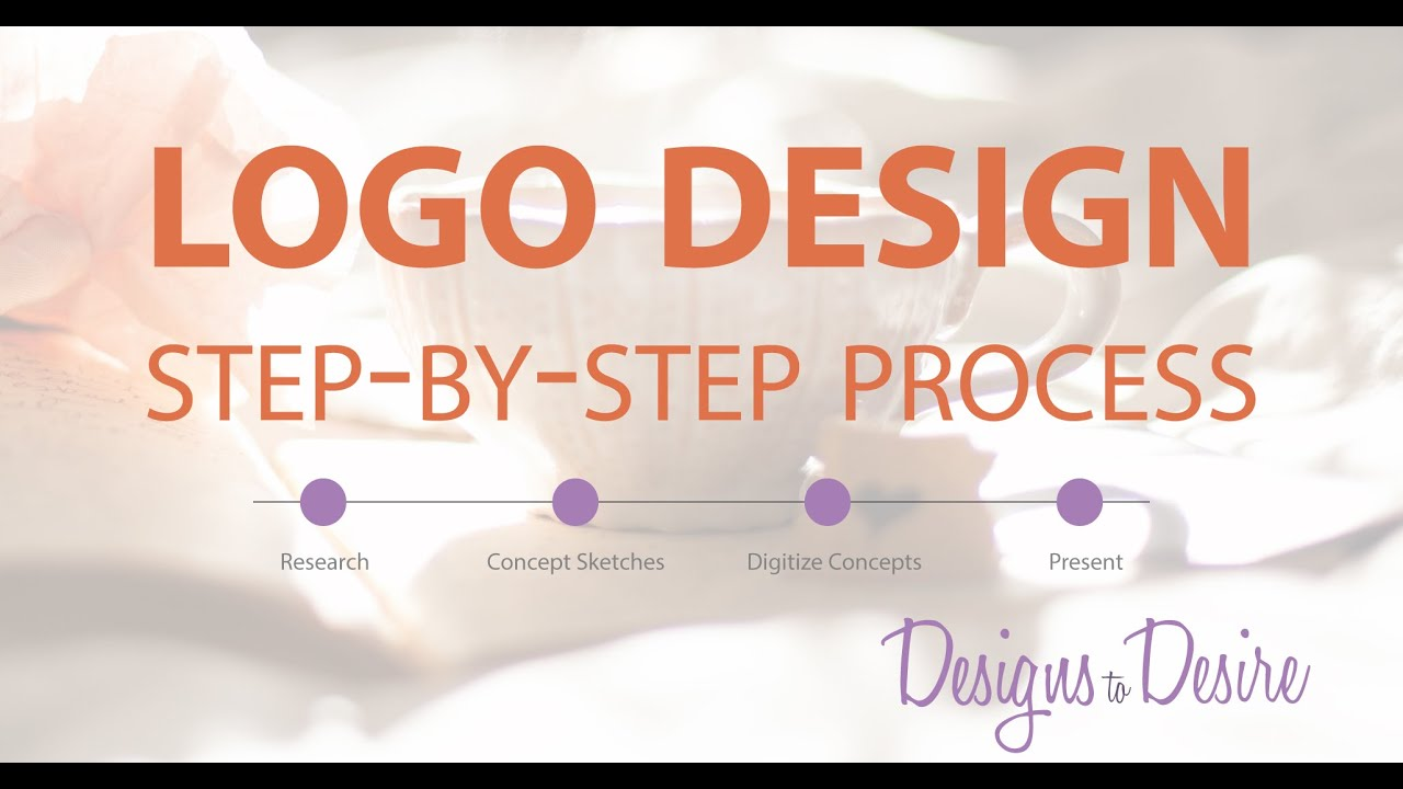 Logo Design: My Step-by-Step Process - YouTube