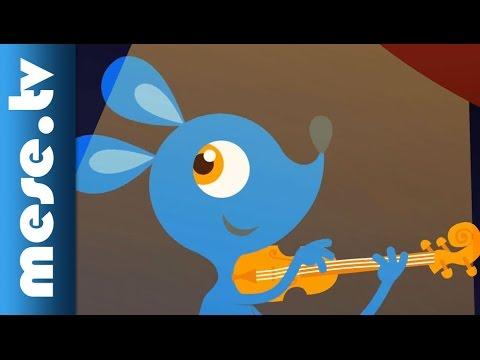 Gryllus Vilmos: Hegedül a kisegér (gyerekdal, mese, Félnóta sorozat) videó letöltés