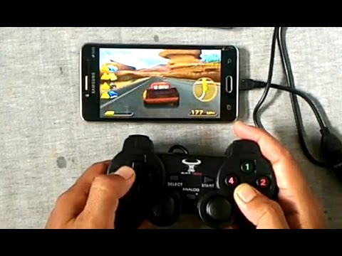 How To Play The Game In Android Using Usb Joystick