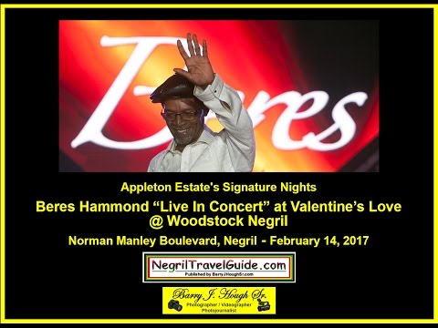 Beres Hammond Valentine's Love @ Woodstock Negril