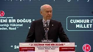 Genel Başkanımız Sn. Devlet BAHÇELİ İzmir Merkezli Bölge istişare Toplantısına katıldı.