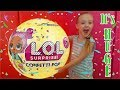 WORLD'S BIGGEST LOL SURPRISE CONFETTI POP DOLL With our Dad! What's Inside?!