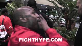 """FLOYD MAYWEATHER, DAN BILZERIAN, AND STEVE AOKI MOBBED BY FANS: """"PRIVATE JETS, MONEY AND ALL THAT"""""""