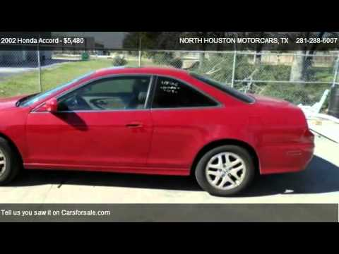2002 Honda Accord EX V6 coupe - for sale in Spring, TX 77388