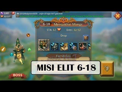 Kombinasi Hero MISI ELIT 6-18 (Mission ELITE 6-18) _ LORDS MOBILE
