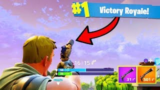 *EPIC* SILENCED PISTOL VICTORY in Fortnite: Battle Royale | Chaos