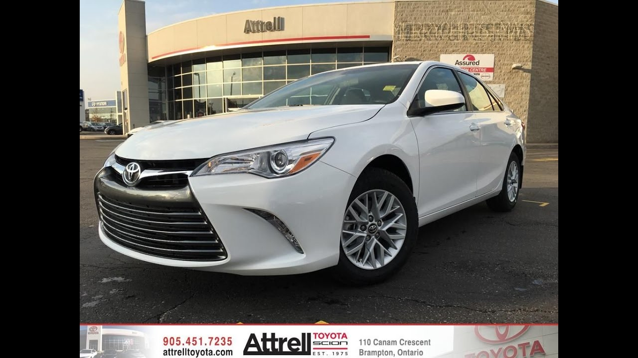 2017 Toyota Camry Le Upgrade Package Brampton On Attrell