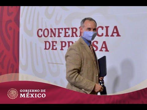 Conferencia de Prensa #COVID19 | 16 de octubre de 2020 #GraciasPorCuidarnos