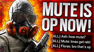 This Is Why Mute Is OVERPOWERED In Rainbow Six Siege