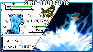 Evolution of Surf - Pokémon Moves (1996-2018)
