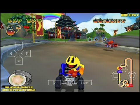 Wajib Coba Game Racing PS2 Seru Ini! - Pac-Man World Rally PPSSPP Android
