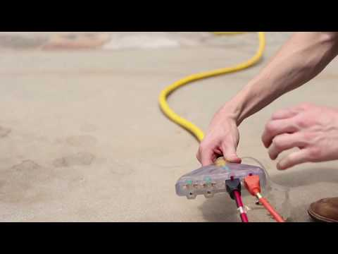 Champion Tip #52: Using the Correct Extension Cords with a Portable Generator