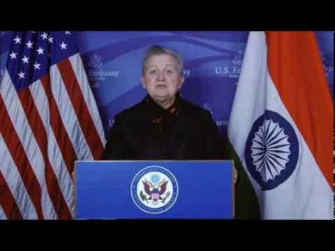 Ambassador Nancy J.  Powell wishes India a Happy New Year