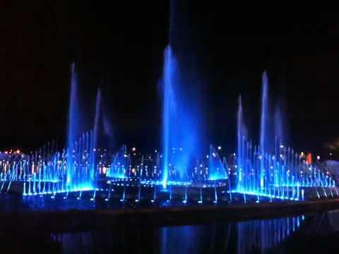 Musical fountain KK
