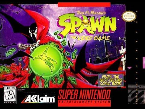Spawn: The Video Game Прохождение (SNES Rus)