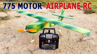Wie man Ein RC Flugzeug 775 Motor