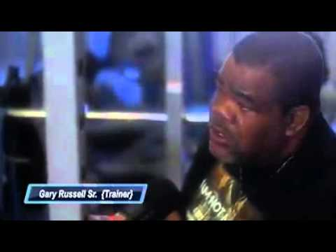 Gary Russell Sr interview @ Hartford Boxing Center