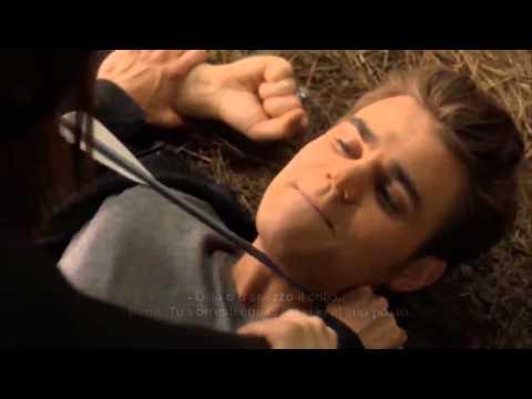 The Vampire Diaries Season 4   Ste   Elena in the woods  deleted    sub ita  hd720