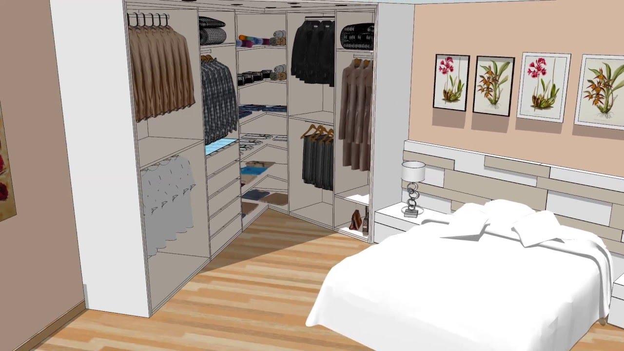 Dormitorio principal con vestidor - YouTube