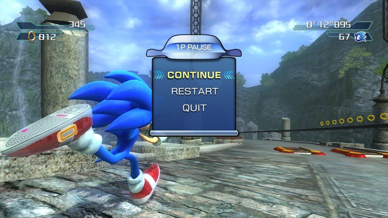 Prerelease Sonic The Hedgehog 2006 The Cutting Room Floor
