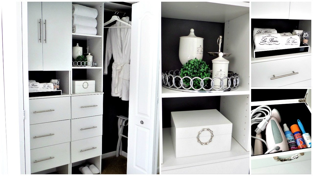 NEW! Guest Bedroom Closet Tour: How To Be Guest Ready For