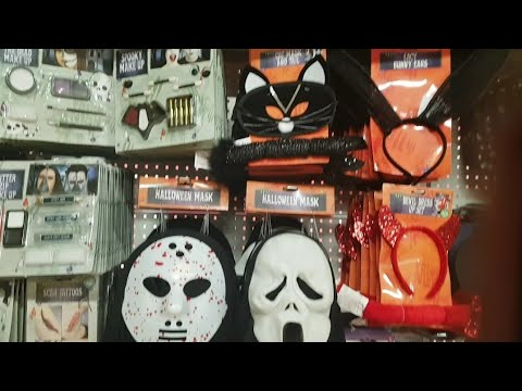 Poundland Halloween and a little bit of charity shopping vlog