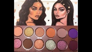 Kylie Cosmetics - Preview of New Kylie X Jordyn Eyeshadow Palette + Swatches | MAKEUP ADDICTED
