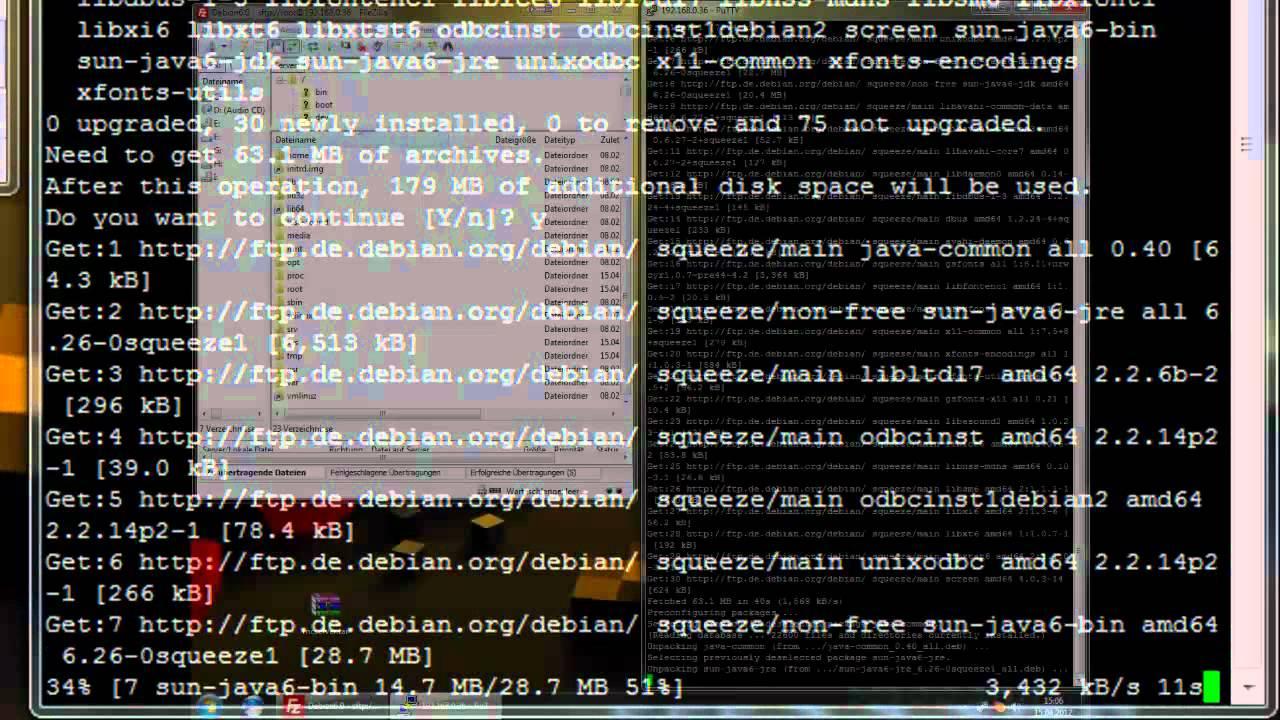 Debian Minecraft Server Erstellen YouTube - Minecraft server erstellen debian
