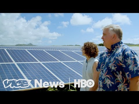 Tesla's Solar Facility is Part of Hawaii's Goal For Energy Independence (HBO)