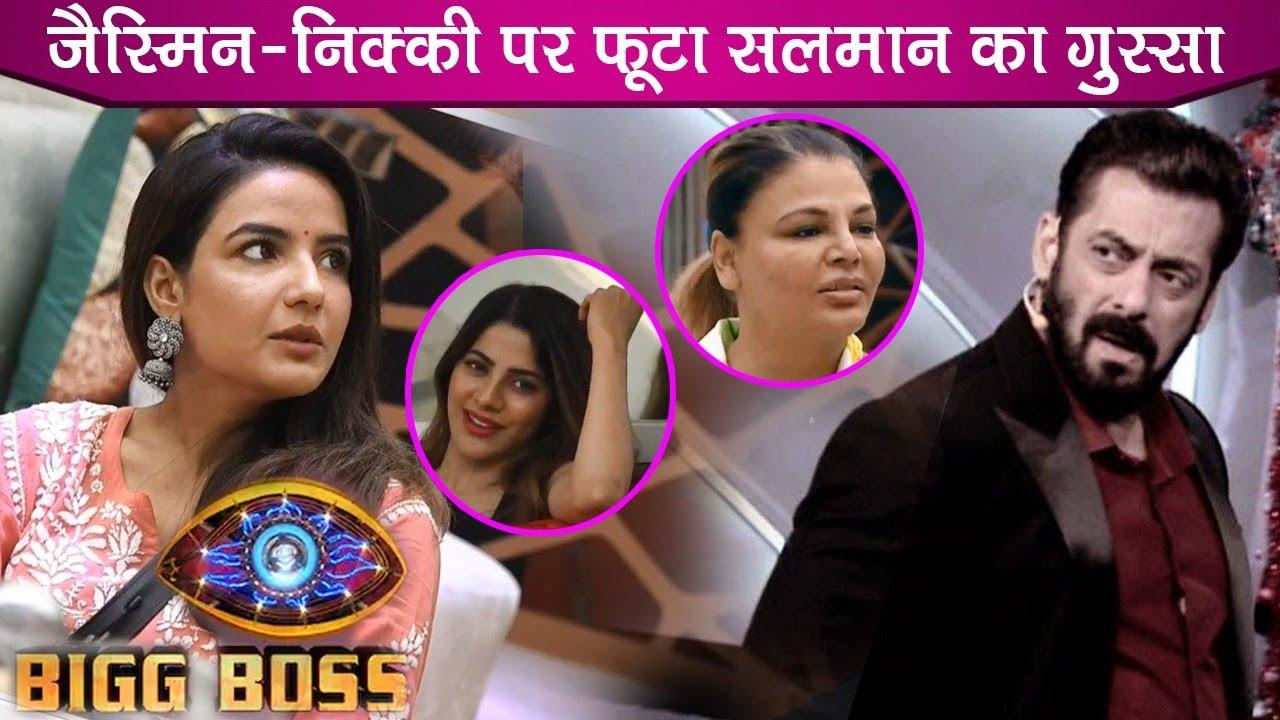 Download Bigg Boss 14: Salman Khan Angry Reaction On Jasmin Bhasin & Nikki Tamboli On This Weekend Ka Vaar