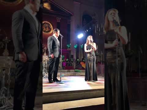 """Simon Bailey and Gina Beck  """"All I Ask Of You""""  West End For Grenfell concert  15/0418"""