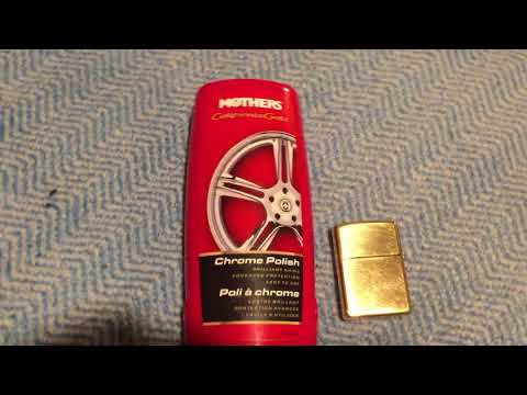 Polishing your zippo. DONT USE BRASSO!!