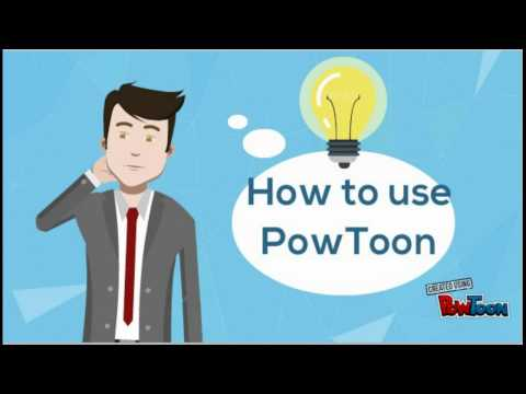 Learn How To Make Easy Animation In 10 Min Using POWTOON For Beginners