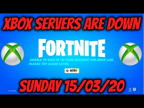 Xbox Servers Are Down (Fortnite, Apex Legends, Warzone Not Working)