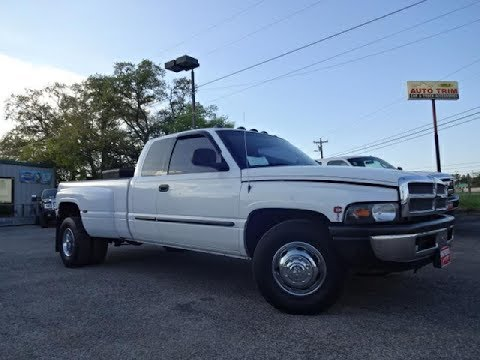 2002 Dodge Ram 3500 Dually SLT Cummins 6 Speed Review