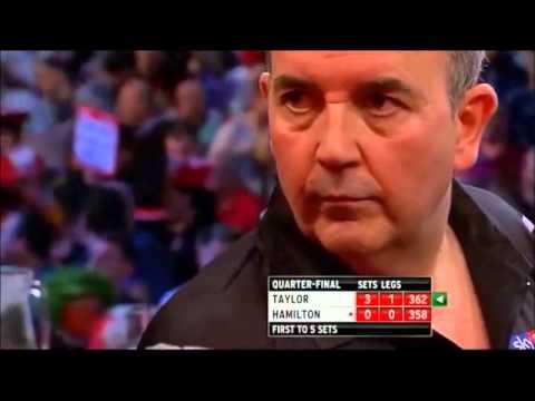 PDC World Darts Championships 2013 Quarter Finals Taylor VS Hamilton