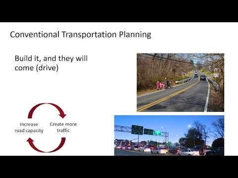 Bedford Highway Open House slideshow - Transportation Planning 101