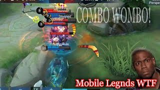 WTF Mobile Legends   Funny Moments   Combo Wombo Fail Savage 300IQ OMG