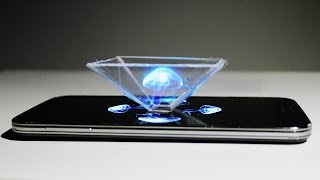 Verwandel dein Smartphone in ein 3D Hologramm !