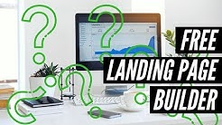 Free Landing Page Builder and Email List Software