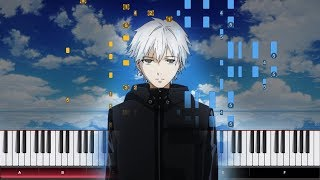 Unravel - Tokyo Ghoul OP [Animenz Version] - Piano Tutorial - IMPOSSIBLE
