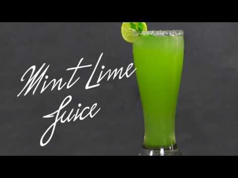 Mint Lime Juice | Healthy Drink