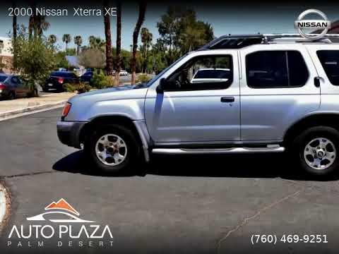 Palm Desert Nissan >> 2000 Nissan Xterra Auto Plaza Palm Desert